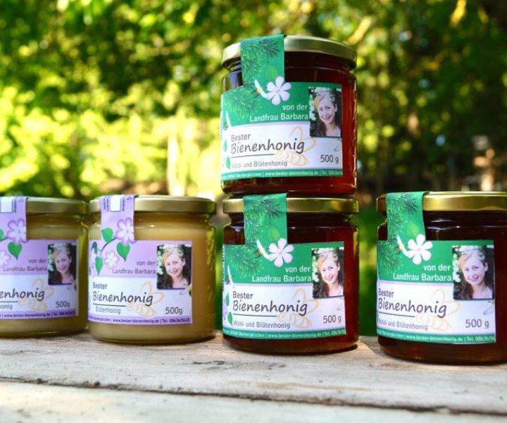 Bester Bienenhonig … aus dem Bauernland Inn-Salzach